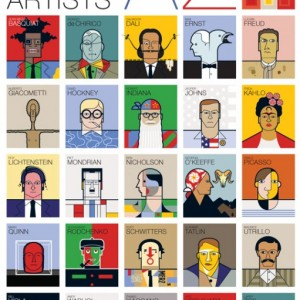 Can you name 26 Great Modern Artists from A-Z?