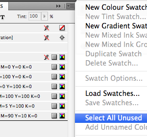 Check your print artwork's colours in Adobe InDesign