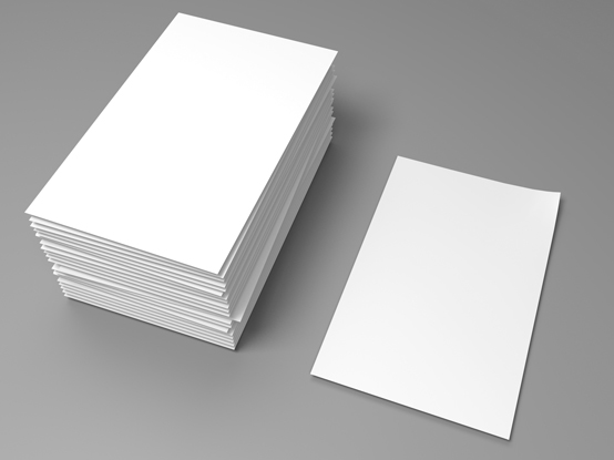 A4 sheets of paper