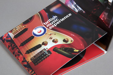 square attraction printed brochure
