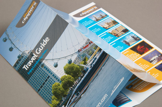 full colour printed 8 page DL flyer