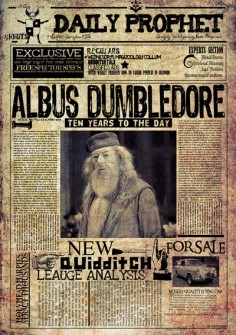 Old Magic Daily Prophet Press Printhouse Corporation