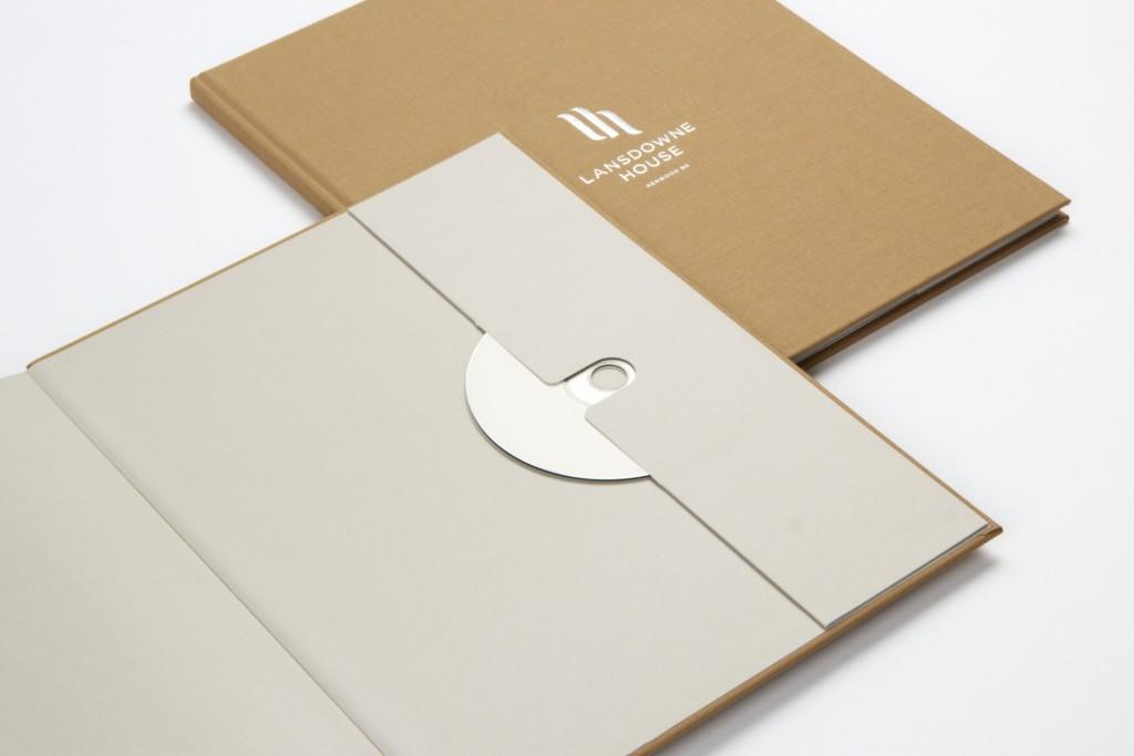 """Landsdowne-House Brochure"""" Endpapers"""