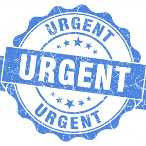 Is it really that urgent!