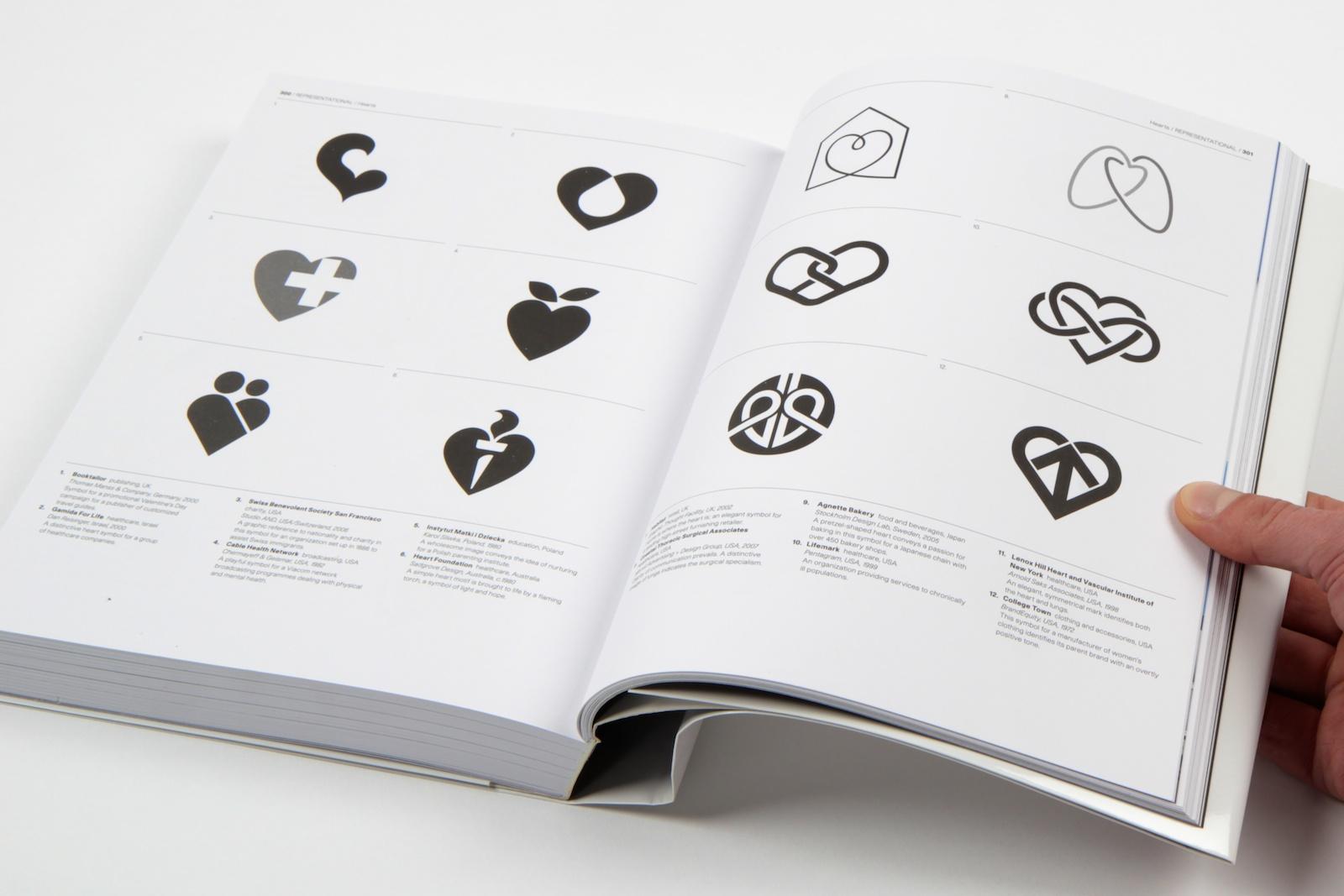 Spread from 'Symbol' book