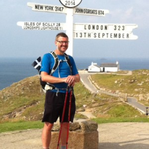 London to Lands End – on foot