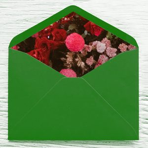 C5 envelope printed inner