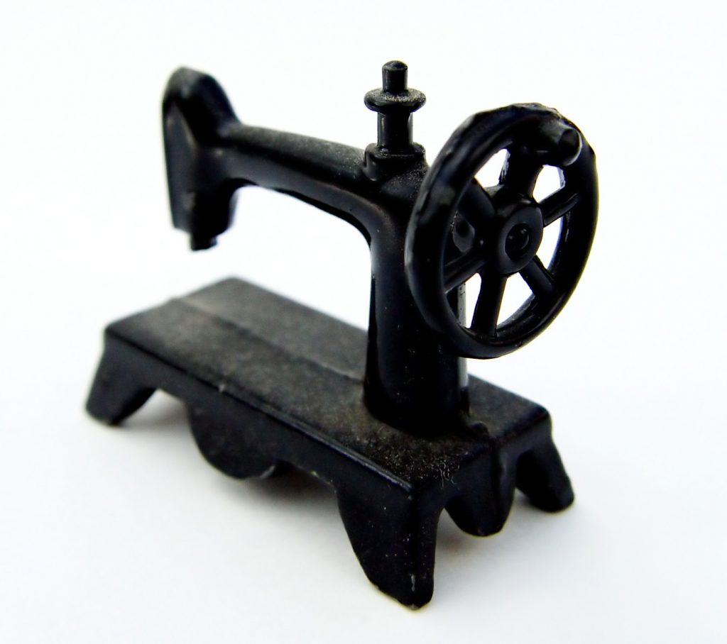 Sewing machine used for print finishing