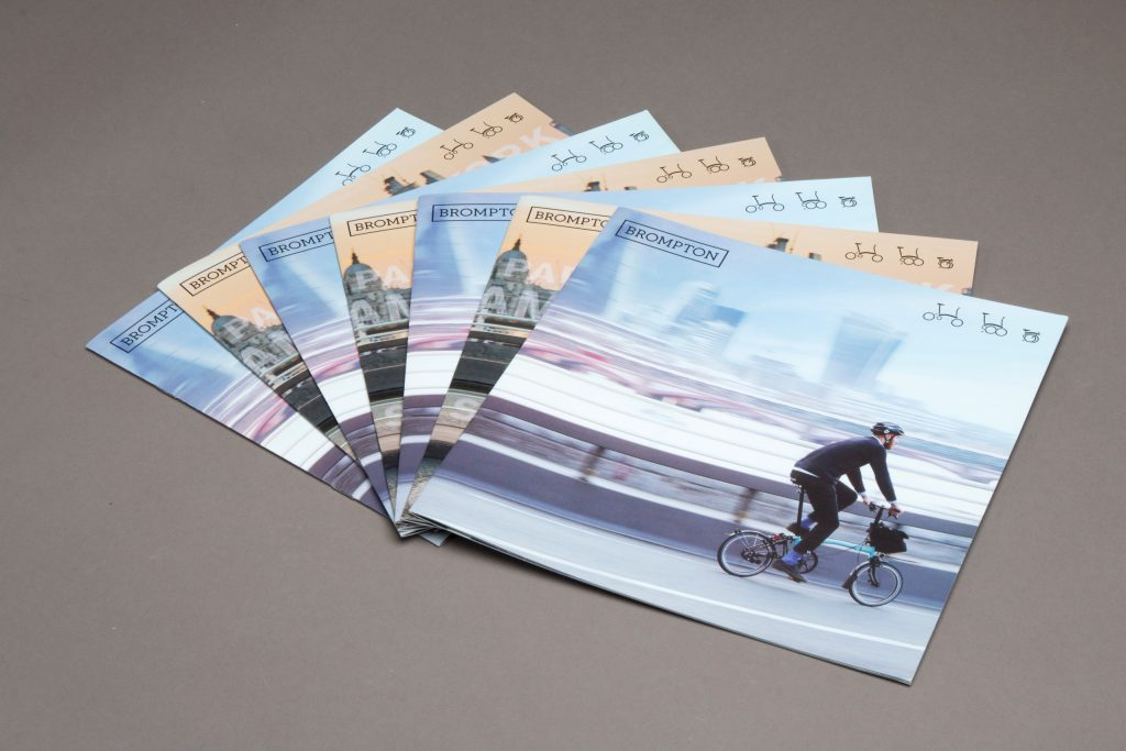 Brompton bikes brochure